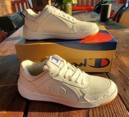 Champion Women's Super C Court Low Mono White Athletic Shoes