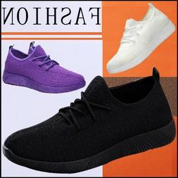 Women Sneakers Athletic Nursing Walking Breathable-Mesh  Out