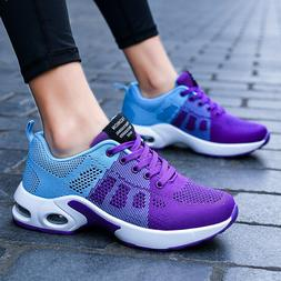 Women Sneakers Casual Shoes Running Breathable Trainers Tenn