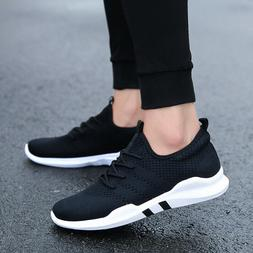 Women Tennis Shoes Flyknit Casual Athletic Walking Running T