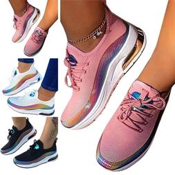 Women Walking Sneakers Breathable Trainers Sport Mesh Tennis