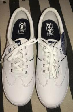 Keds Women White Leather Sneakers Tennis Shoes Memory Foam O