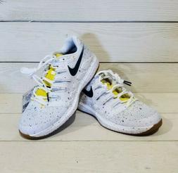 WomensNike Air Zoom Vapor X HC Tennis Shoes AA8027  White/ V