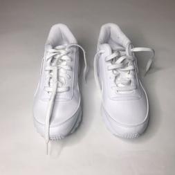 Reebok Womens Classic Renaissance White/Steel Walking Shoes
