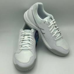 ASICS Womens Gel-Dedicate 5 White/Silver Tennis Shoes Size 9