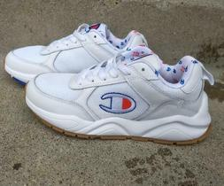 Champion womens/girls sneakers tennis shoes, white , sz 6, n