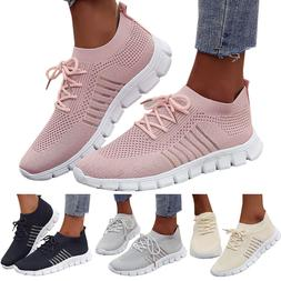 Womens Mesh Breathable Tennis Shoes Sneakers Athletic Sports