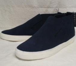 womens navy blue roselyn high top ankle