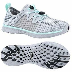 ALEADER Womens Stlylish Aqua Water Shoes Comfort Tennis Walk