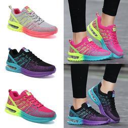 Womens Tennis Shoes Air Cushion Breathable Running Athletic
