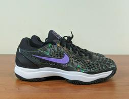 Nike Zoom Cage 3 HC SLK Men's Tennis Shoes Purple Black RAFA