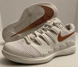 NIKE Zoom Vapor X HC Tennis Shoes AA8027-066 Off White  *NO